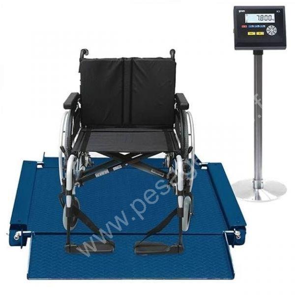 Balance pour handicapé en fauteuil - Pèses personnes