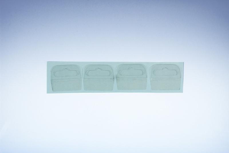Eurolochaufhänger transparent aus Kunststoff -... - Eurolochhaken