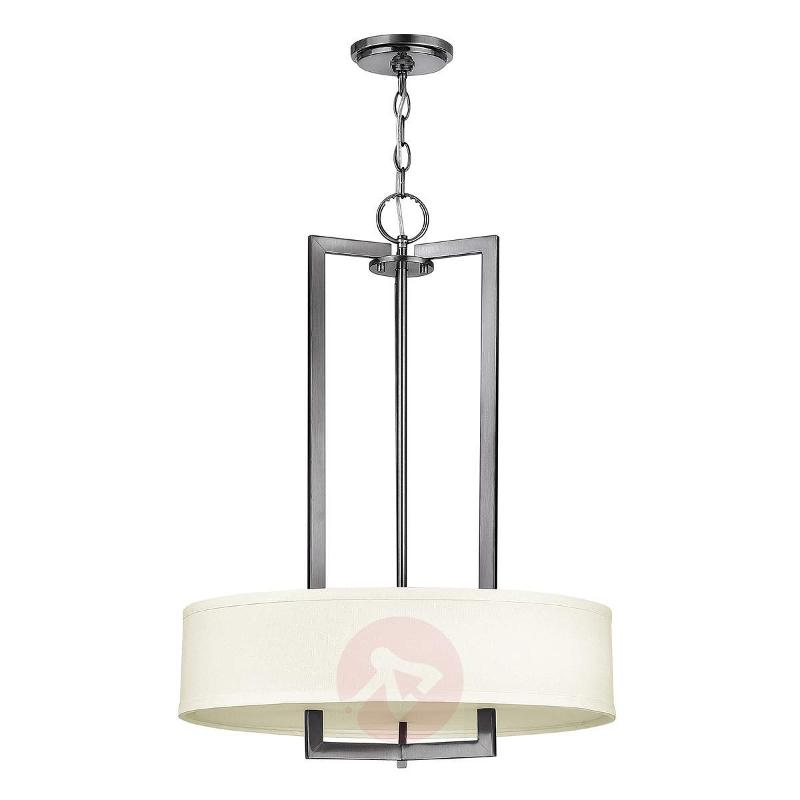 Large fabric pendant light Hampton - Pendant Lighting