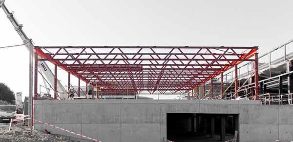 Construcción industrializada de laboratorios