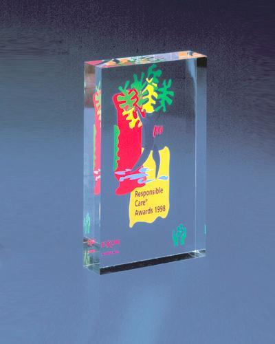 Business Gifts, trofeeën - Type trofee: Award bloc 8