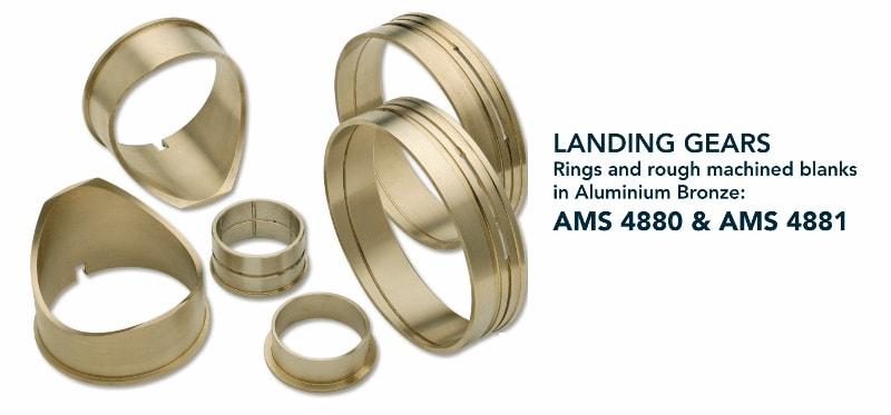 Ring & rough machined blanks - Aerospace - landing gears