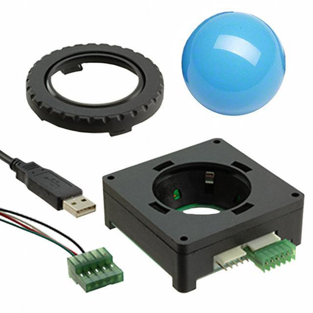 "TRACKBALL 1.5"" USB ILLUM BLUE - APEM Inc. R1507F20V00B"