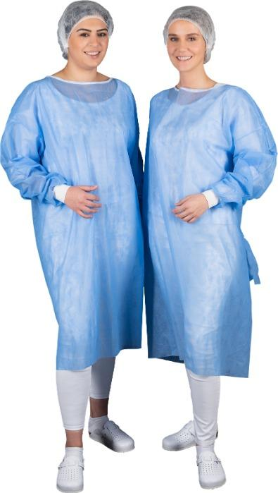 Visitor gown - Our visitor gown is perfect for everyday use. It protects against any pathogens