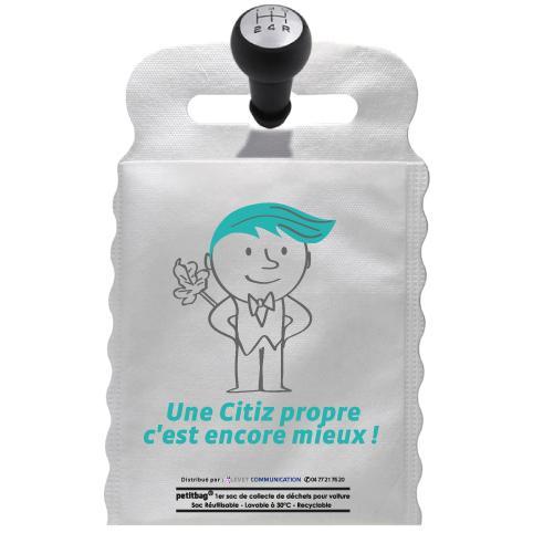 Sac poubelle écologique pour voiture - Citiz les voitures éléctriques à Grenoble