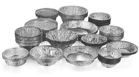 formas de aluminio normais e especiais - formas de aluminio para comidas e sobremesas