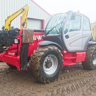 2015 MANITOU MT1840 TELEHANDLER - Turbo, Stabilisers, Piped, Forks, Sway.