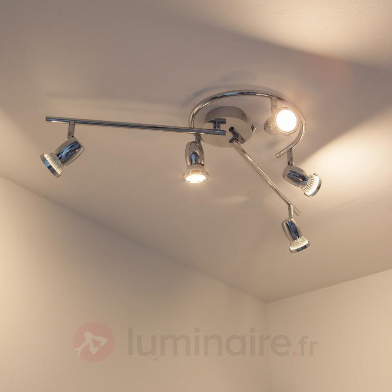 Arminius - Plafonnier 5 lampes - Plafonniers LED