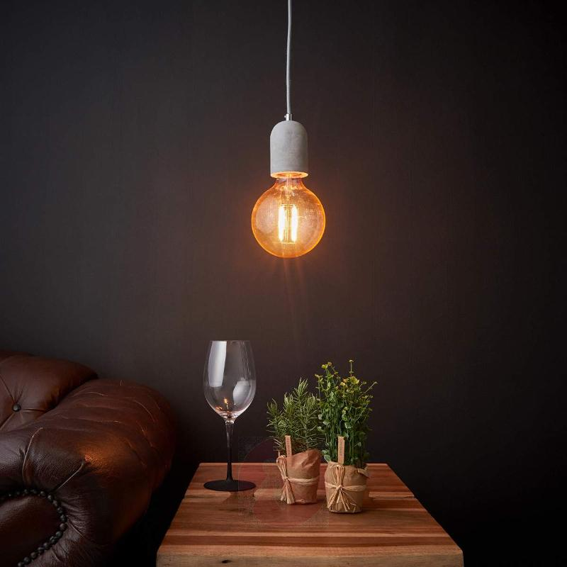 Effective LED hanging lamp Concrete - Pendant Lighting