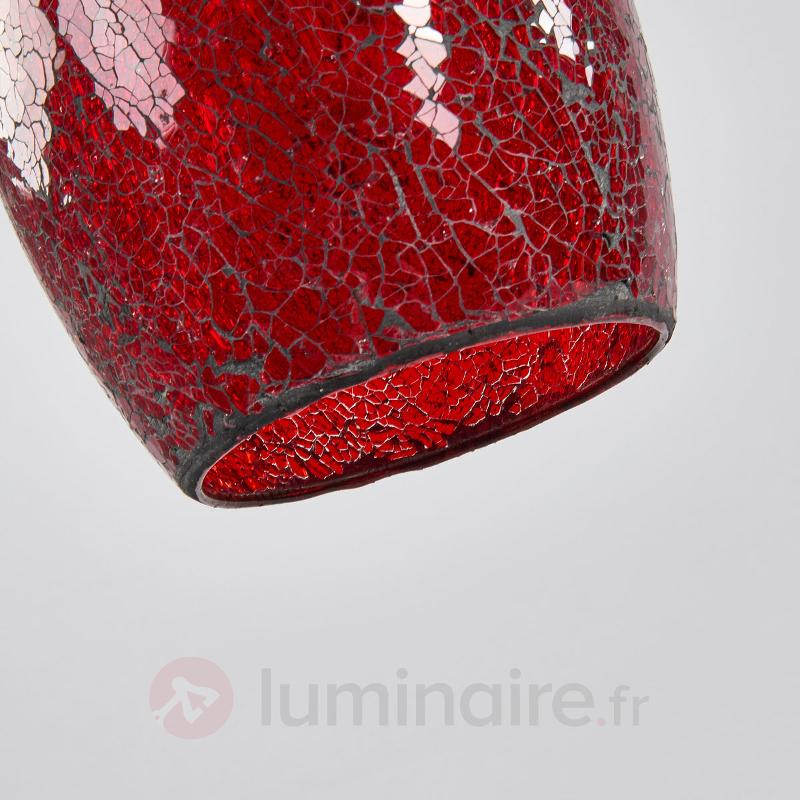 Suspension chaleureuse CRACKLE - Suspensions en verre