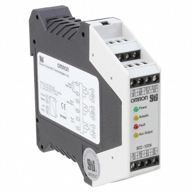 CONTROL SAFETY EDGE 120V - Omron Automation and Safety SCC-1224ND