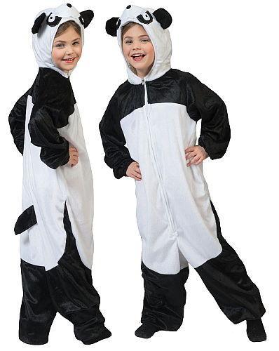 Costume panda  - taille 116 140 164