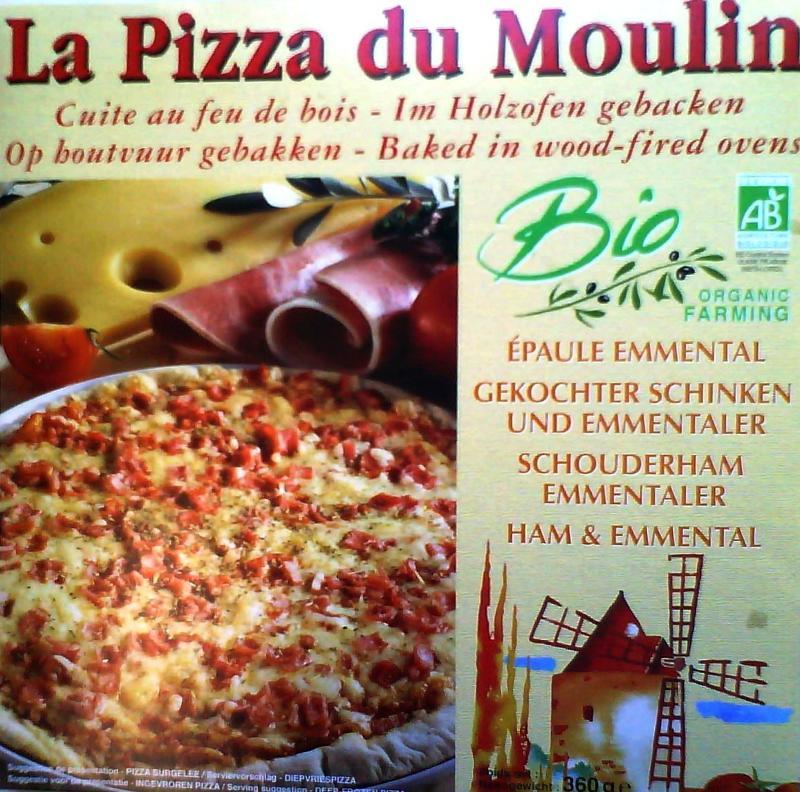 Pizza épaule emmental