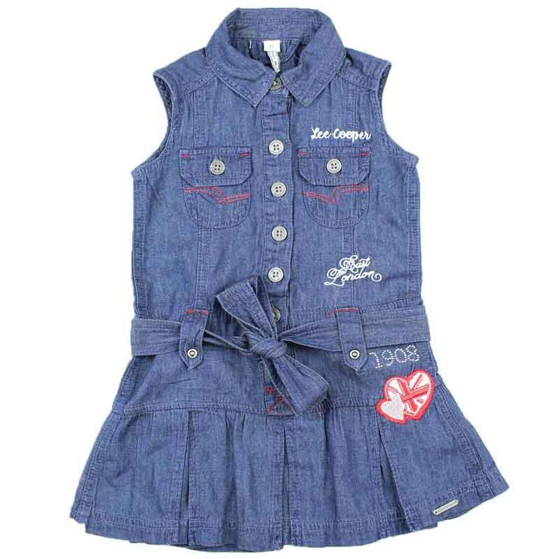 Wholesaler kids dress licenced Lee Cooper - Dress and Skirt and Short