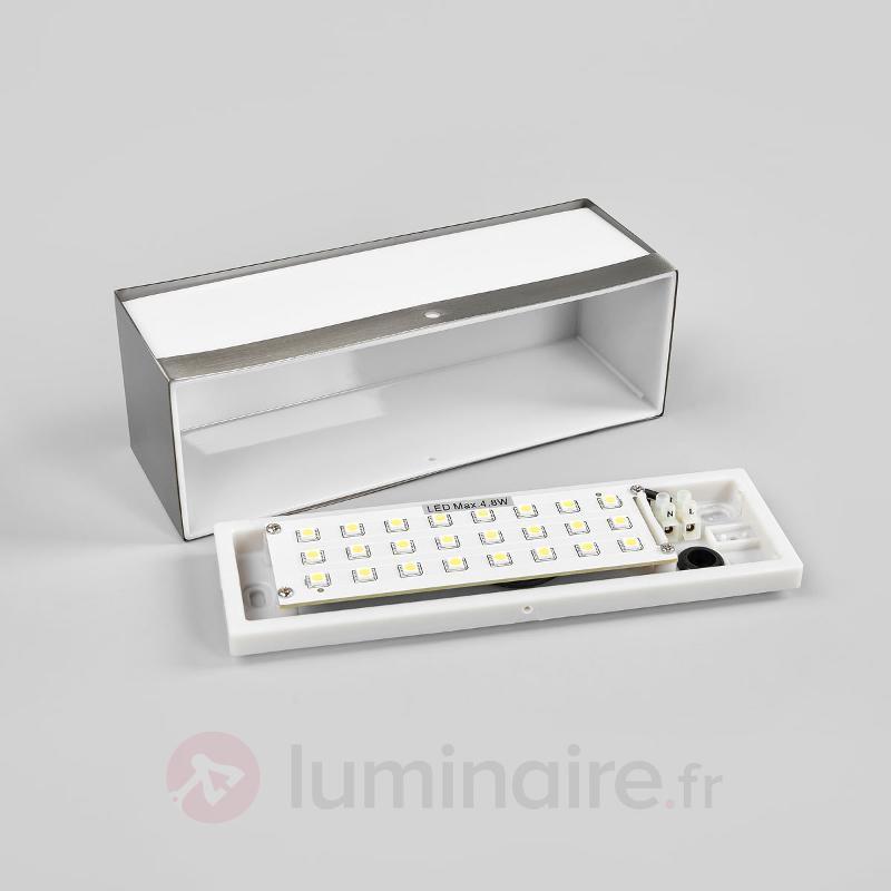 Applique d'extérieur LED rectangulaire Nomaa IP44 - Appliques d'extérieur inox