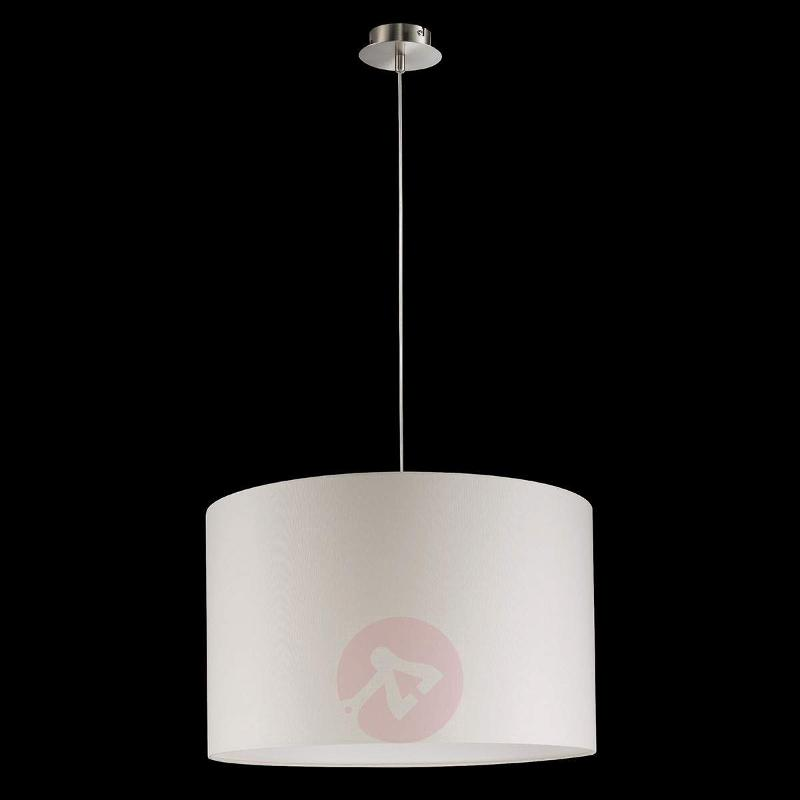 Fabric pendant light Shine Loft - cream-coloured - Pendant Lighting