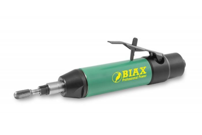 Straight grinder - SARH 820 - Speed 20.000 rpm / Power 300 watts / lever valve / straight / oil operated