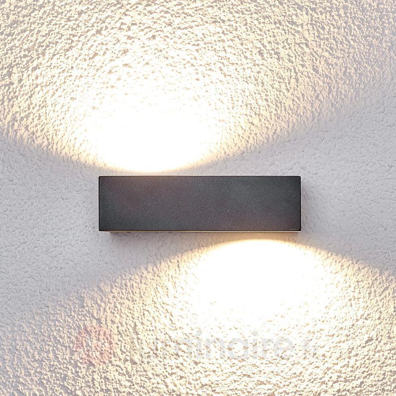 Applique d'extérieur LED Loredana à effets - Appliques d'extérieur LED