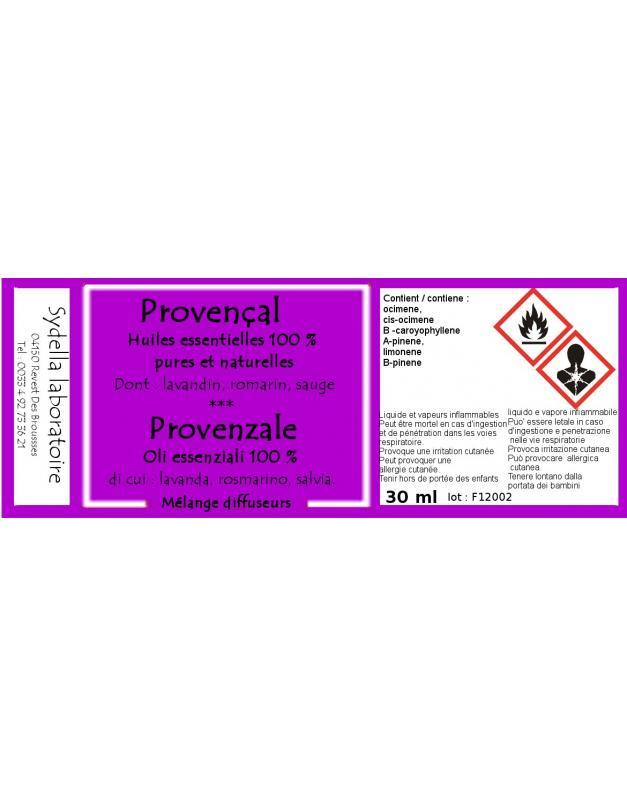 Provencal - DIFFUSION