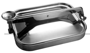 Rectangular exterior lids - Series 23