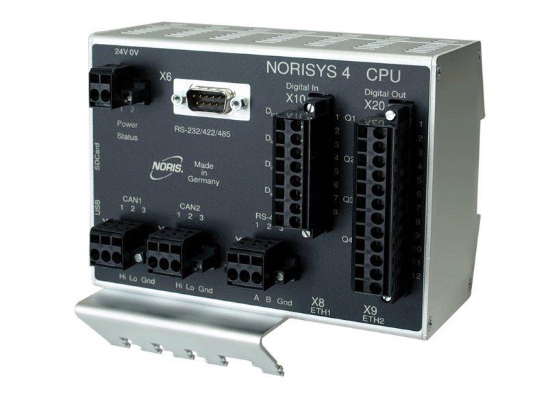 digitales E/A-Modul - NORISYS 4 CPU / Master-Modul - digitales E/A-Modul - NORISYS 4 CPU / Master-Modul / 32-Bit Prozessor