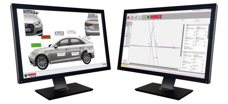 在线间隙测量仪 CALIPRI C11/C15 - 手持式间隙和面差测量系统,用于在线应用
