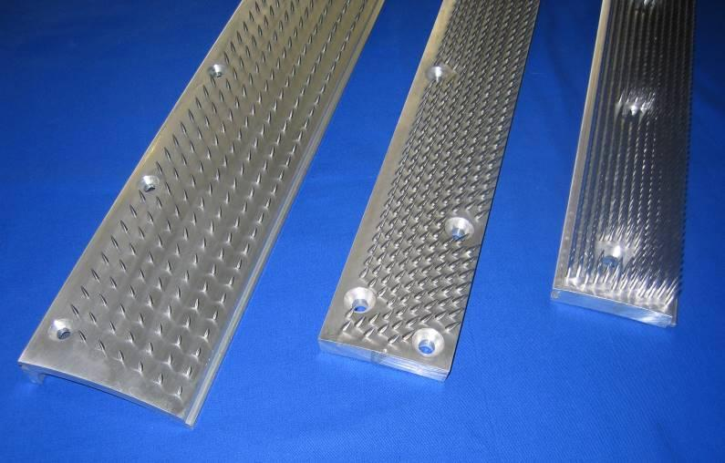 Aluminium tambour lags - for fiber-openening  and tearing cylinders