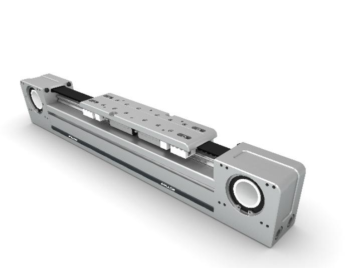 Smart System - High performance, simple linear units with steel re-enforced driving belt