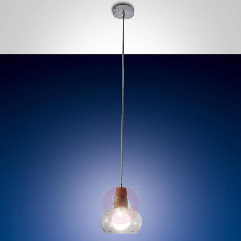 Liri - Hanging Light with Cork - Pendant Lighting