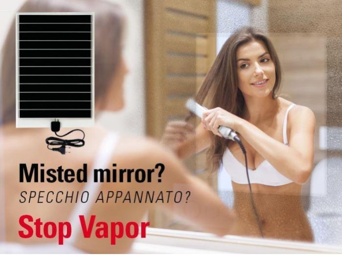 Stop Vapor anticondensa per specchi Mirror demister defogger -