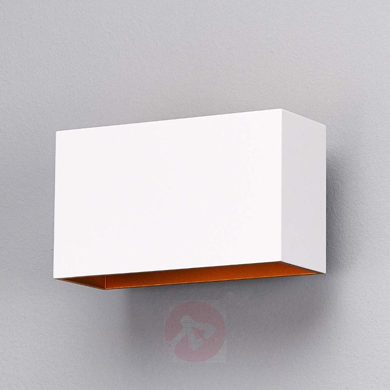 Jessy LED Wall Light White / Gold - Wall Lights