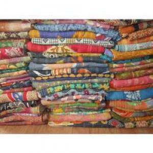 Antique Vintage Kantha Quilt -
