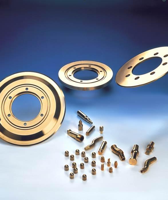 Electrodes et molettes de soudage - Soudage par résistance