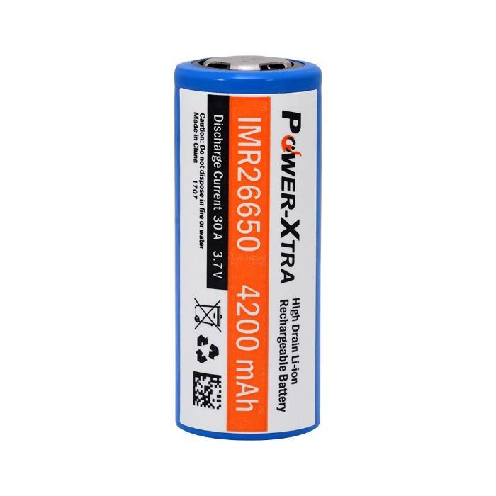 POWER-XTRA  -  IMR26650 3.7 V 4200 mAh