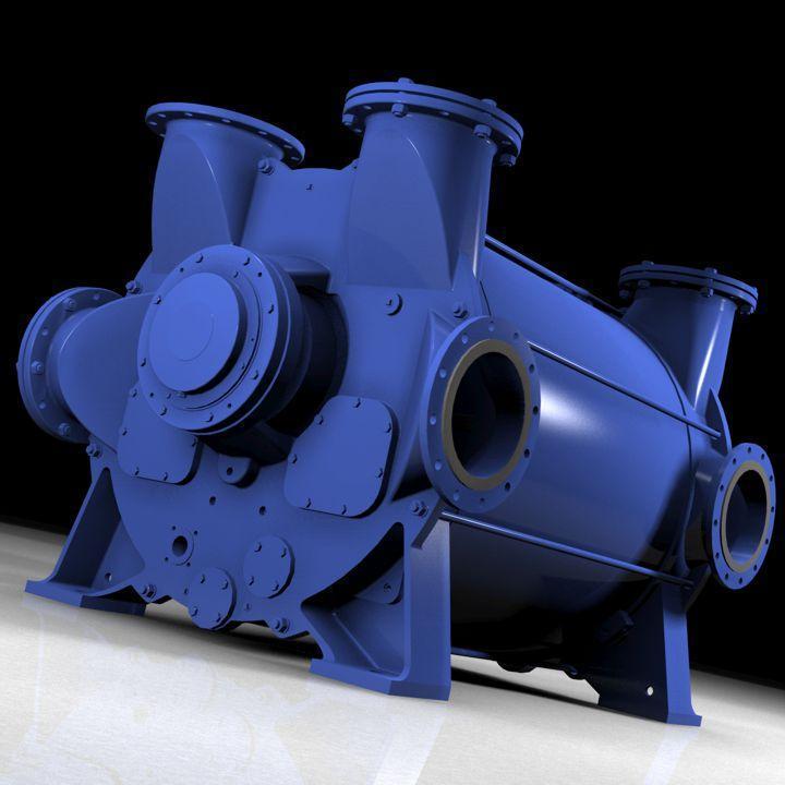 Classic Liquid Ring Vacuum Pumps and Compressors - 2BE3 & 2BE4 Compressors