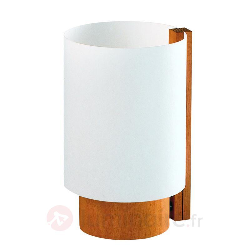 Lampe à poser Bobby intemporelle - Lampes à poser en bois