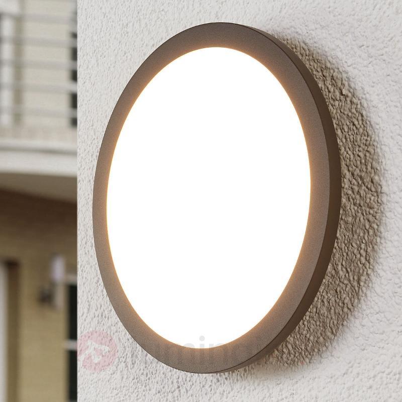 Plafonnier d'extérieur LED Malena à capteur - null