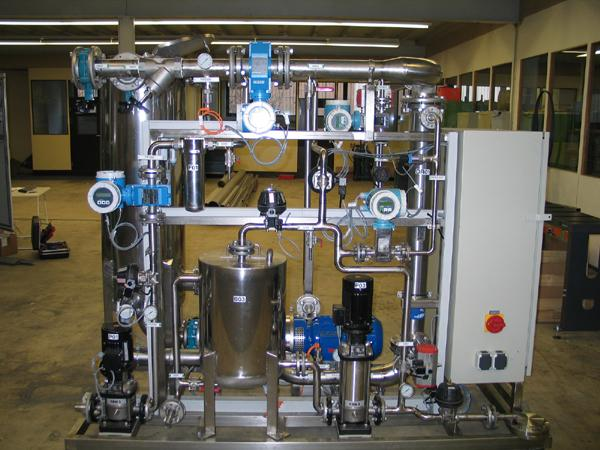 Laboratory and pilot plants - for membrane technologies