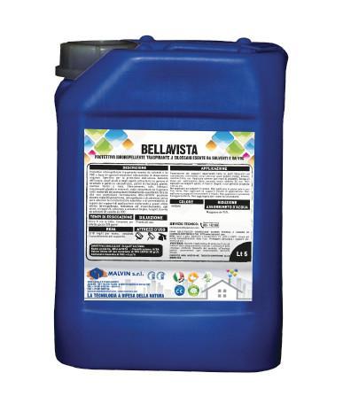 BELLAVISTA Protettivo idrorepellente traspirante - Conforme alla direttiva 2004/42/CE