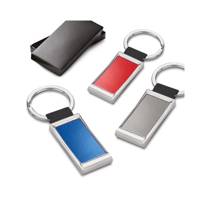 Porte-clés métal et webbing - Porte-clés métal