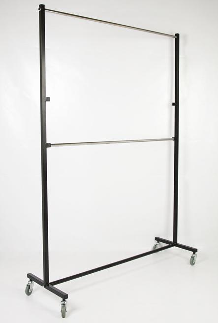 Perchero Industrial 2 barras 150 cms.