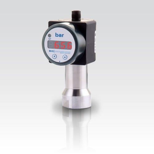 Pressure Switch DS 214 - pressure switch / electronic / with digital display / stainless steel