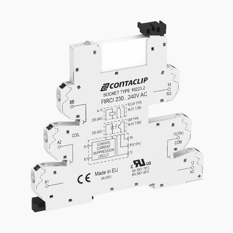 FIRCIU 1/24V AC/DC | Kompaktes Interface-Relais (IRC)  - null