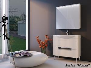 "Bathroom furniture set ""Monza"" -"