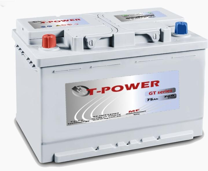 T-POWER CAR BATTERY  - AUTOMOTIVE BATTERY