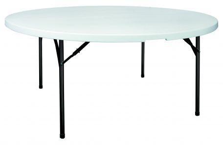 Table Polypro Ronde 180 Cm - Tables De Collectivités