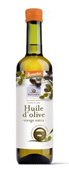 Huile d'olive vierge extra Demeter - Produits oléicoles