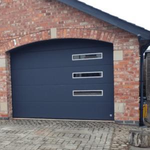 Sectional Garage Door - Sound and heat insulation garage doors