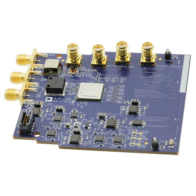 EVAL BOARD FOR FMC MODULE - Analog Devices Inc. AD-FMCADC2-EBZ