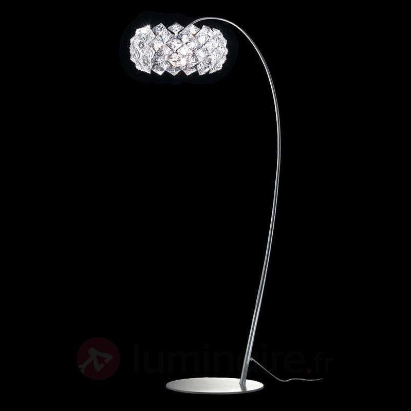 Joli lampadaire scintillant PRISMA - Lampadaires arqués